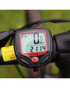 15 Fonction Ordinateur De Vélo Dx -668 Ordinateur De Vitesse Odomètre Compteur De Bicyclette De Vélo