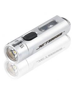Jetbeam xpg3 + rgb 365 uv led lampes de poche étanche 10w 500lm extérieur cyclisme camp chasse escalade poche torche travail lumière