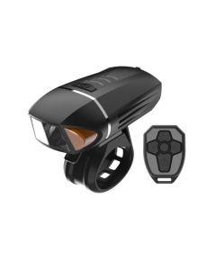 350 lumens vélo lampe de poche clignotant USB charge LED lumière vélo corne VTT phare