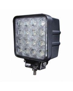 48W 12V 16Pcs * 3W Led Work Light Lampe De Travail Étanche Ip67 Inondation De L'Inondation Ou Spee Jeep Atv Offroad Led Lumière De Travail Led