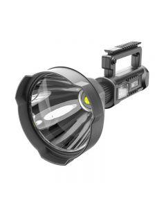 Lampe de poche portable XHP70 Projecteur rechargeable USB Projecteur étanche avec support
