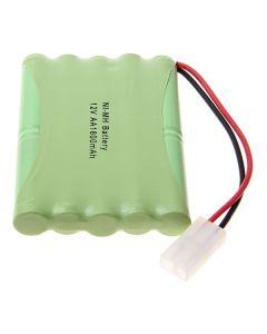 Ni-Mh Aa 12V 1800Mah Big Blanc Batterie Pack-10 Pcs A Pack
