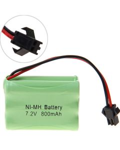 Ni-Mh 3A 7,2V 800Mah Sm Batterie Pack Pack-6 Pcs A Pack