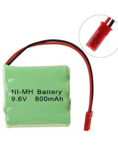 Pack De Batterie Ni-Mh 3A 9.6V 800Mah Avec Plug-8 Rouge Pcs A Pack (Double Niveau)