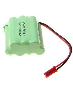 Batterie En Forme D'Échelle Ni-Mh 3A 8.4V 800Mah Avec Plug-7 Rouge Pcs A Pack