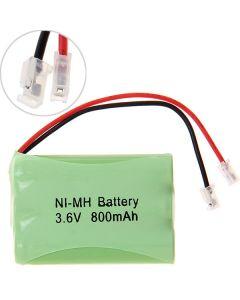 Ni-Mh Aaa Pack De Batterie 3.6V 800Mah Pour Téléphone Sans Fil-3 Pcs Dans Un Brut