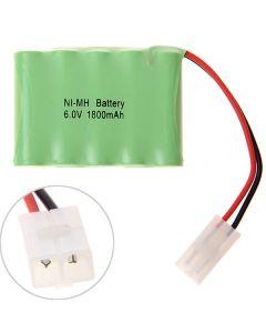 Ni-Mh Aa 6V 1800Mah Big Blanc Batterie Pack-5 Pcs Un Pack Dans Un Brut