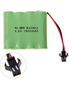 Ni-Mh Aa 4.8V 1800Mah Sm Plug Batterie Pack-4 Pcs A Pack