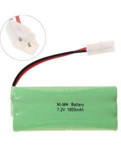 Ni-Mh Aa 7.2V 1800Mah Big Blanc Batterie Pack-6 Pcs A Pack