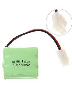 Ni-Mh Aa 7.2V 1800Mah 557 Batterie Pack-6 Pcs A Pack