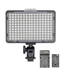Neewer Photo Studio 176 LED 5600K Ultra Lumineux Dimmable pour Canon Nikon Sony et autres DSLR
