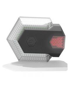 Utilisé pour avertissement de sécurité de vélo feu arrière de vélo clignotant LED avant et arrière