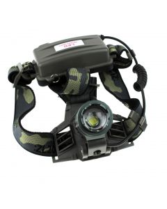 No Logo Cree Xm-L T6 1200Lm 3 Modes Phare Zoomable Automatique (2 * 18650)
