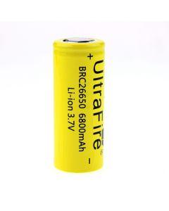 Ultrafire Brc 26650 3.7V 6800Mah Batterie Li-Ion Rechargeable Non Protégée