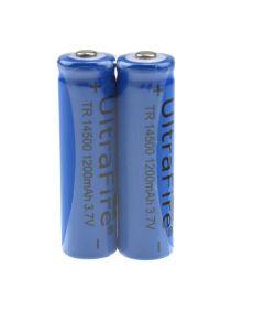Batterie Li-Ion Non Protégée Non Protégée Rechargeable Ultrafile Tr 14500 1200Mah.