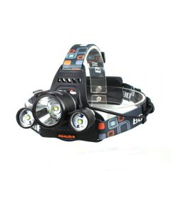 Phare Led Boruuit Rj-3001 3T6 4000-Lumen 3Xcree Xm-L T6 Mode Headlamp De Lumière (2 * 18650 Batterie, Pas Inclure)