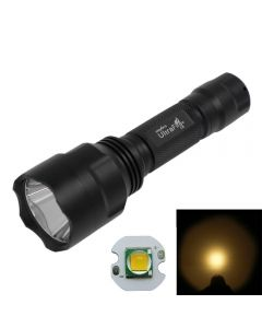Ultrafire C8 Cree Cree Xm-L Torch De Lampe De Poche À Led Blanc Chaud À 5 Modes (1 * 18650)