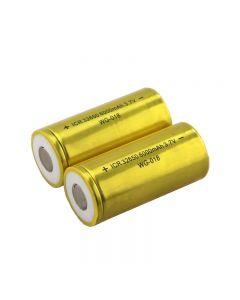 Batterie Irc 32650 6000Mah 3.7V Li-Ion (2 Paquets)