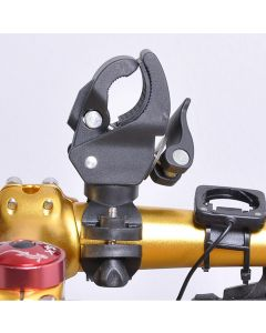 Dernier Vélo En Plastique Omnipotent À Led De Lampe De Poche Led Support Support De Lampe De Lampe De Lampe Avant Pour Vélo Cyclisme