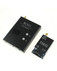Transmetteur Av Fpv Av Sans Fil 48Channel 5,8G 600Mw Ts832 + Rc832 Récepteur Radio Sans Fil Av