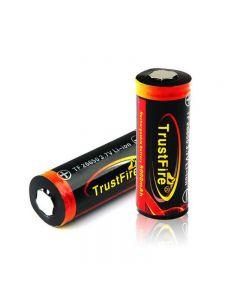 Trustfire Tf 26650 Batterie Li-Ion Rechargeable Protégée Protégée Protected 5000Mah (1 Paquet)