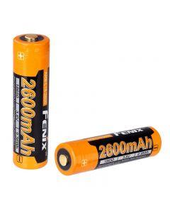 Fenix Arb-L18-2600 Batterie Li-Ion Rechargeable 3.7V 2600Mah Arb-L2-2600 Avec Pcb Et Protection Contre La Chaleur (1Pc)