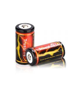 Trustfire 18350 3.7V 1200Mah Lihium Li-Ion Batterie Rechargeable (2Pcs)