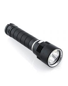 Oem 3 * Cree Xm-L U2 Lampe De Poche Sous-Marine 4000 Lumen Torche De Plongée Led (2 * 26650)