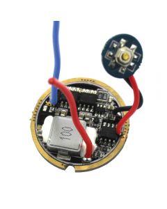6 ~ 13V 5A 5 Modes Trois Panneau De Circuit Imprimé De Lampe De Poche Led Haute Performance À Haute Performance De Lithium Pour Xhp50, Mtg2, Xhp70