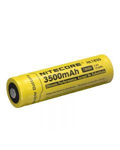 Nitecore Nl1835 3.6V 3500Mah 18650 Batterie Li-Ion Protégée De La Batterie (1Pc)