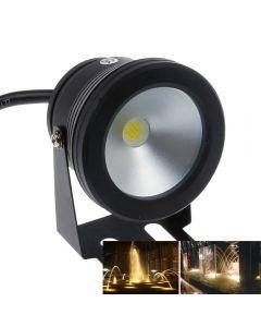 Lumière Sous-Marine Led 10W 12V Étanche Ip67 Fontaine Lampe De Piscine -Black