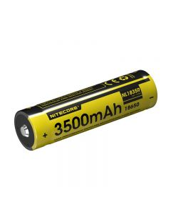 Nitecore Nl1835R 3500Mah High Performances Micro-Usb Port De Charge Rechargeable Liion Batterie 12,6Wh 3.6V