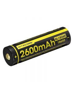 Nitecore Nl1826R 3.6V 18650 Batterie Li-Ion Rechargeable De Micro-Usb Haute Performance