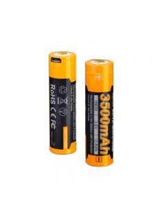 Batterie Fenix Arb-L18-3500U Batterie 3.6V 3500Mah Usb Batterie Rechargeable Usb-1Pc