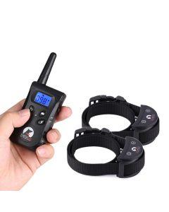 Collier De Formation De Chien De Pet De 500M Pour 2 Chiens Vibrations Électriques Vibration Light Voice Dispositif D'Entraînement Pour Chiens Pet Dog Trainer Petit Chiens Paipeitek Pd520S-2