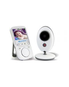 Lcd Sans Fil Vidéo Audio Baby Moniteur Radio Nanny Music Intercom Ir 24H Portable Caméra Bébé Portable Baby Walkie Talkie Babysitter
