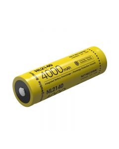Batterie Rechargeable Nitecore 21700 Li-Ion Nl2140 4000Mah 3.6V / 14.4Wh Batterie