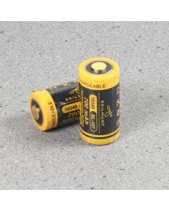 Skilhunt 16340 700Mah 3.6V Batterie Protégée Bl-107 3.6V (1Pc)