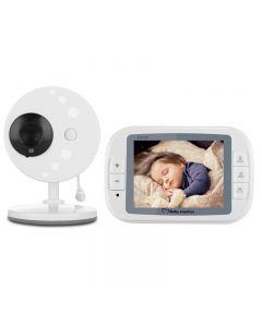 Vidéo Sans Fil Baby Monitor 3.5Inch Baby Monitor Baby Caméra Nanny Security Sp851 Noir Vision Caméra Surveillance Vidéo