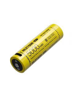 Nitecore 5A 5000Mah Usb Typs-C Batterie Li-Ion Rechargeable Nl2150R 21700 Batterie