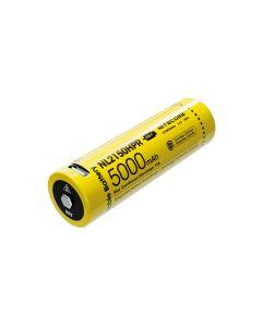Nitecore 3.6V 18Wwh Nl2150Hpr Haute Vidange Li-Ion Usb-C Rechargeable 21700 Batterie
