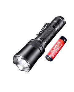Klarus XT11R 1300 lumens Cree SST-40 LED Lampe de poche rechargeable 18650 Tac
