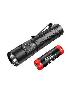 Klarus G15 Lampe de poche rechargeable 21700 Cree XHP70.2 LED Bright EDC de 4000 lumens