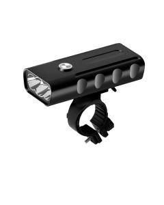 2400 lumens 3 LED vélo lumière L2 / T6 lampe de poche USB rechargeable 360 degrés rotation vélo lumière