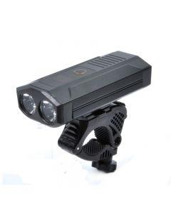 Éclairage de vélo rechargeable par USB avant et arrière Éclairage avant grand angle de 1200 lumens