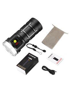 Nitebeam X12UV 9*Osram 6500K 3*UV 365nm UV USB Type-C Kit de lampe de poche rechargeable LED