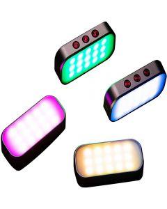 7 couleurs claires Pocket selfie Fill Light 360mAh Batterie rechargeable pour téléphone Photos / Retransmissions en direct / Zoom Appels / vidéo Tir / Disco Party (1 Piece)