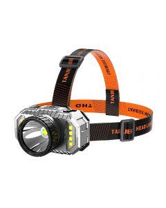 Lampe frontale à LED forte lumière phare de pêche nocturne rechargeable à longue portée super lumineux