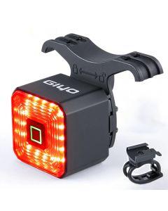 GIYO double support lumière de vélo intelligente feu arrière accessoires de vélo Signal d'arrêt lampe de frein LED lanterne de sécurité