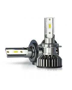 2 pièces Mini CSP H4 H7 LED ampoule de phare de voiture 20000LM 3000K 4300K 6000K 8000K lampes Turbo